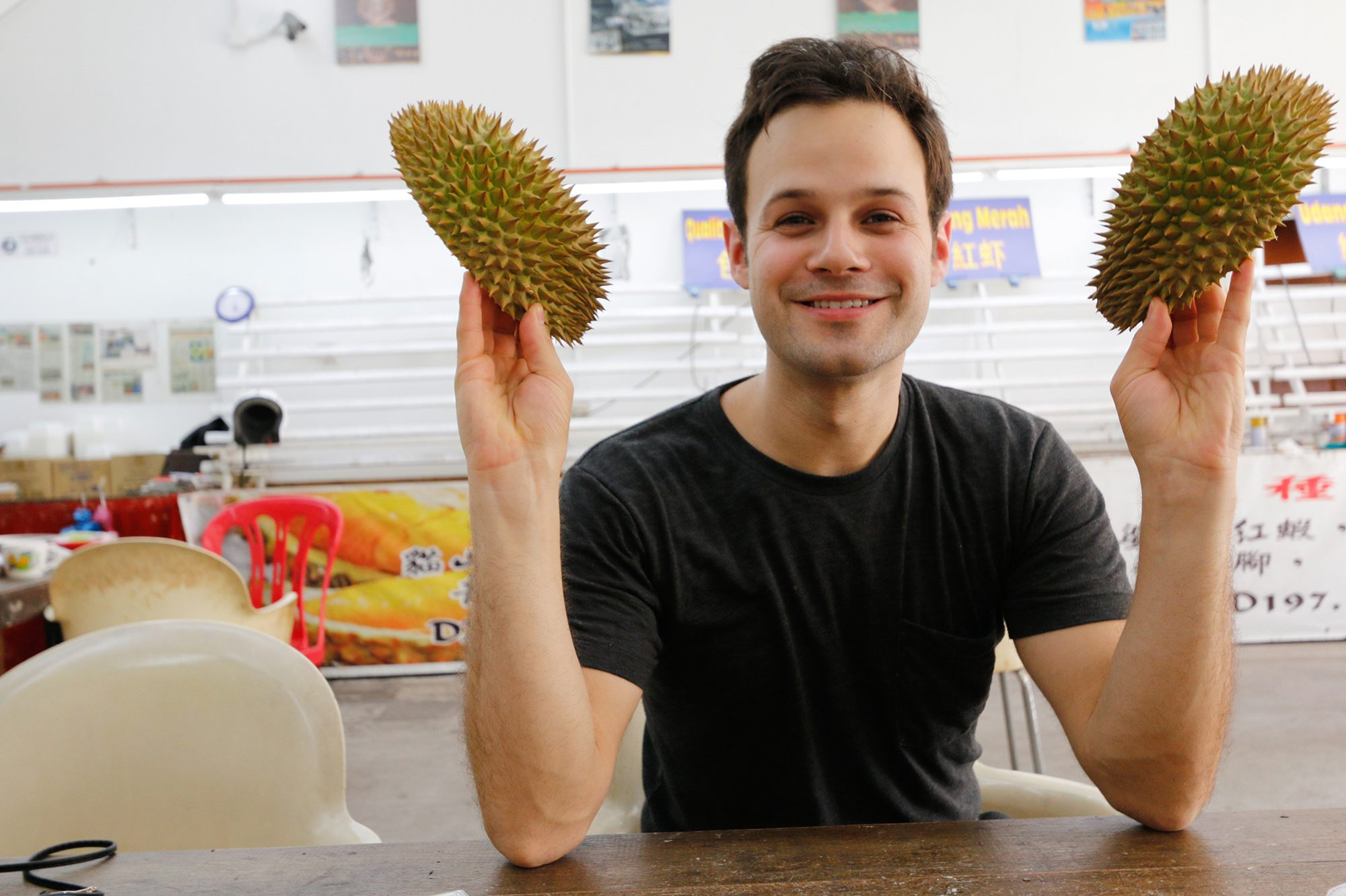 I first fell in love with durian in Penang, Malaysia
