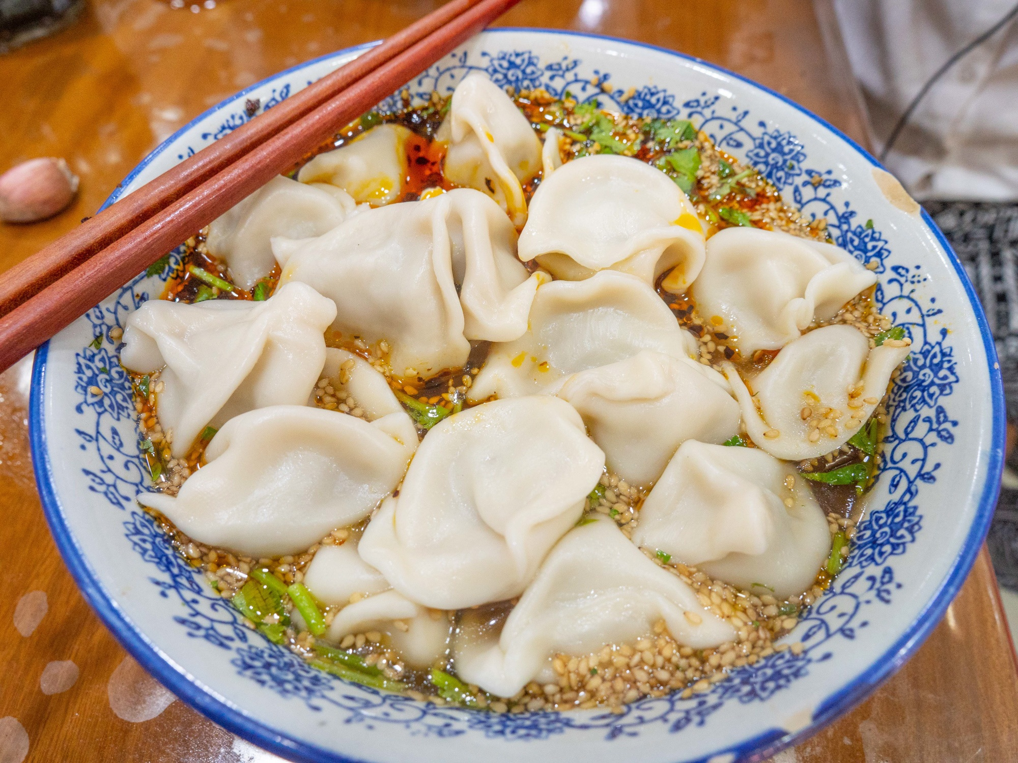 These are some of the best jiaozi I've ever had in China, if not THE BEST. Make sure to try them out when you travel to Xi'an!