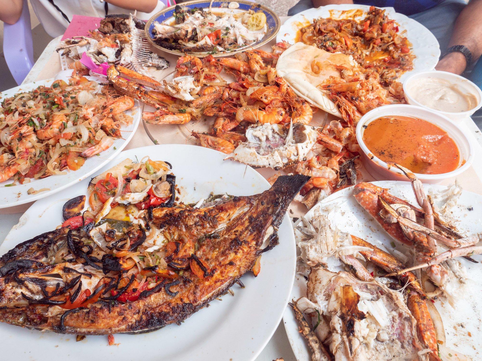 best seafood in alexandria