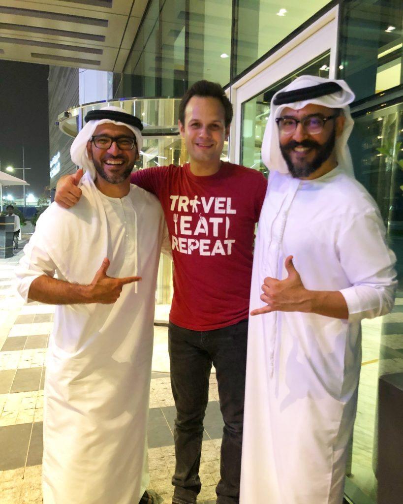 Peyman and Mohammad Awadhi in Dubai