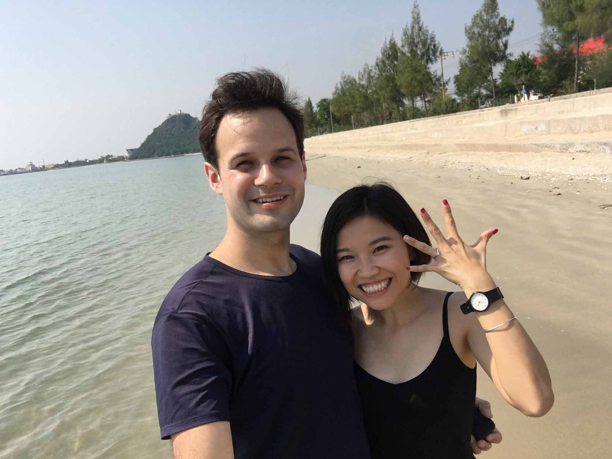 I proposed to Ting just a few years later