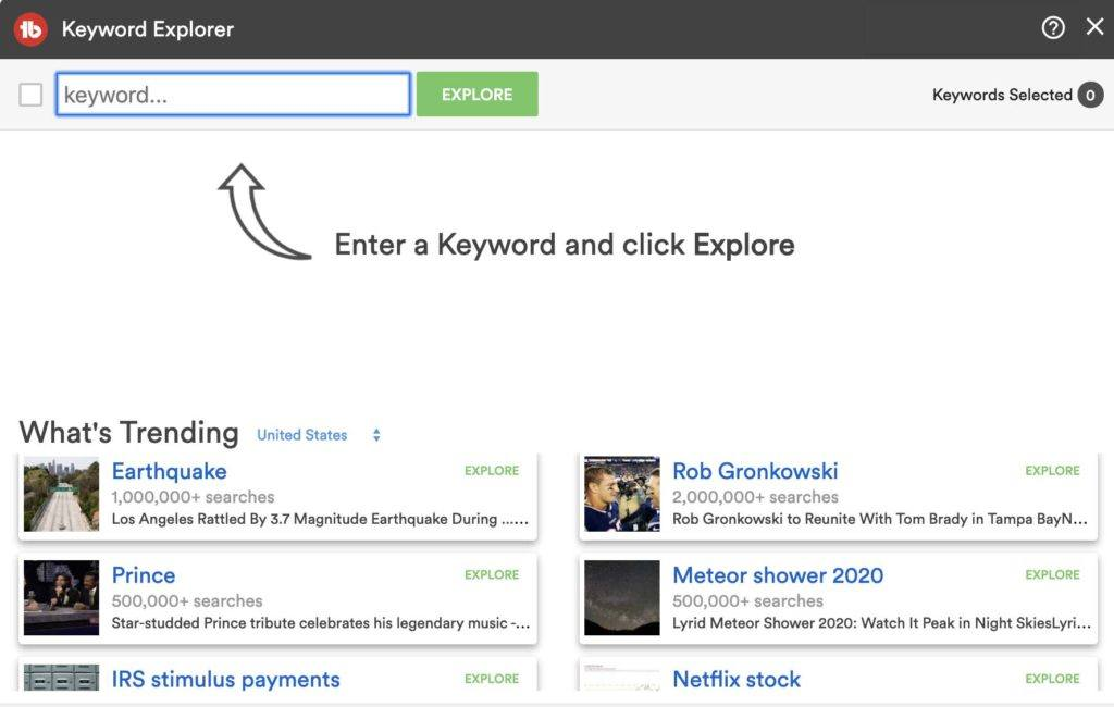 Tubebuddy keyword explorer is a popular feature